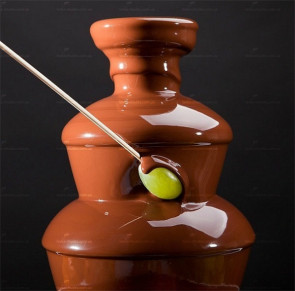 Шоколадный фонтан Chocolate Fountain высота 25 см