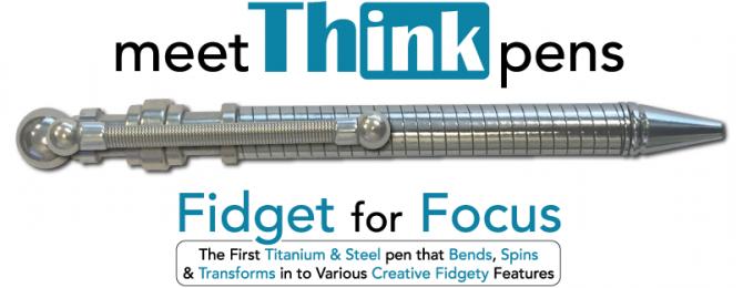 Thinking pen - спиннер ручка :)