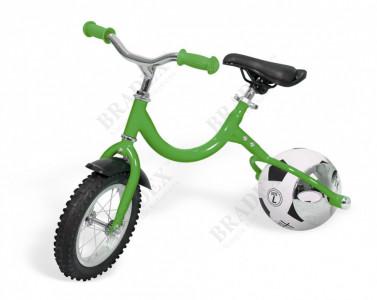 Беговел с колесом в виде мяча «ВЕЛОБОЛЛ» зелёный (Bike on ba