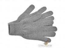 "Перчатки из шерсти ""Як"" серый, Монголия"