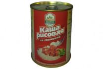 Консервы мясорастительные «Каша рисовая со свининой» 340г