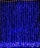 Гирлянда новогодняя водопад 560 LED 3х2,5 м (разноцветная)
