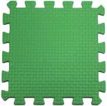 Мягкий пол 33*33*0,9 см зеленый, 9 деталей