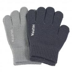 Вязаные перчатки зимние Хуппа