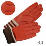 Перчатки женские с отворотом подкладка плюш