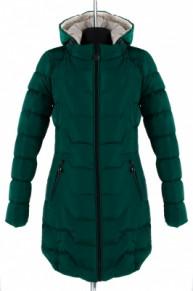 04-1135 Куртка демисезонная (синтепух 250) Плащевка Малахит