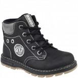 51-744A черн Ботинки деми для мальчиков (25-30)
