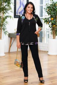 Блуза Дарья с кулоном