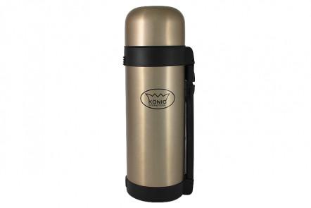 Термос цельнометаллический, для напитков, 1,5 л