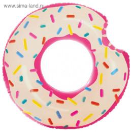 Круг для плавания «Пончик» d= 107х99 см, от 9+ 56265NP INTEX