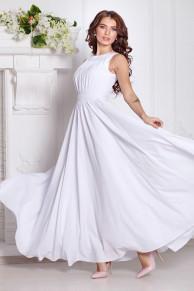 Платье Амелия цвет белый (П-36-4)