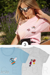 Набор из 3-х хлопковых футболок