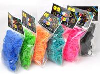2315 Набор для плетения украшений (200 резинок) моноцвет
