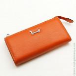 Женский кожаный кошелек на молнии Sergio Valentini СВ 8097-0