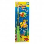 игровой набор Рыбалка 2 рыбки(11см),удочка,на магн.,2 вида