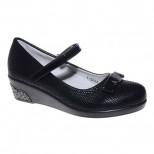 Туфли Канарейка A848-1 черный (32-37)