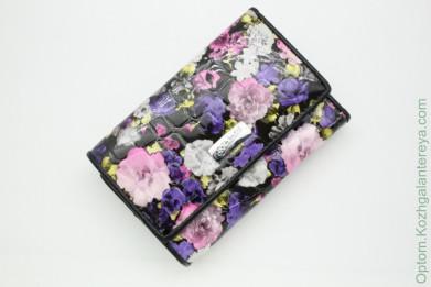 Маленький женский кожаный кошелек Sergio Valentini СВ 8002-0