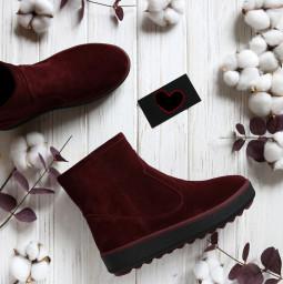 Замшевые мега удобные ботинки-угги. New collection 17-18!