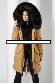 Парка на меху Malina siberian wear цена 33000руб