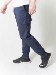 Джоггеры мужские  синий с боковыми карманами
