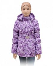 Куртка для девочки (мембрана) А 115-15 RUSLAND фиолетовая