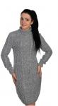 Платье 50103/003 серый