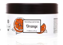 Обновляющий скраб для тела Orange (Апельсин)