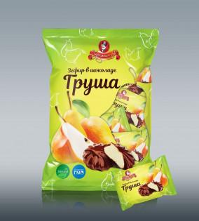 Зефир в подарочной упаковке «Медовая груша в шоколаде»