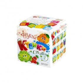 Кубики Овощи и фрукты