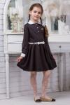 Школьное платье для девочки (рост 122 см)