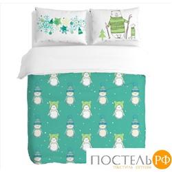 """Peach Комплект постельного белья PeachSoft 1,5-спальное """"Sno"""