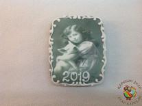 "5322 Новогодняя открытка ""Винтаж"""