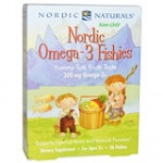 Nordic Naturals, Nordic Omega-3 Fishies 36шт