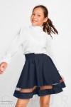 Праздничная школьная блуза