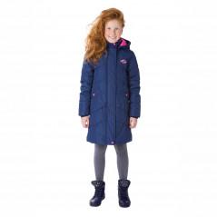 S18164 DARK BLUE  Пальто утепленная 120г