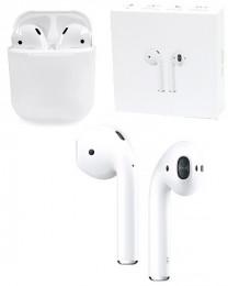 Наушники беспроводные контактные с зарядной станцией для iOS