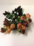 Букет роз бутонов бархат., 7 расцветки