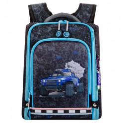 Ранец Across школьный с мешком для сменной обуви