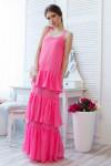 Платье 1316 р.S розовое