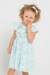 71381 Платье (CROCKID)бирюзовый