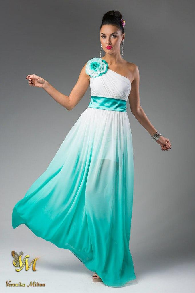 бирюза фото платья