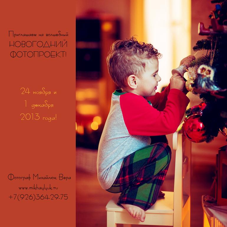 Новогодний фотопроект 2014 года