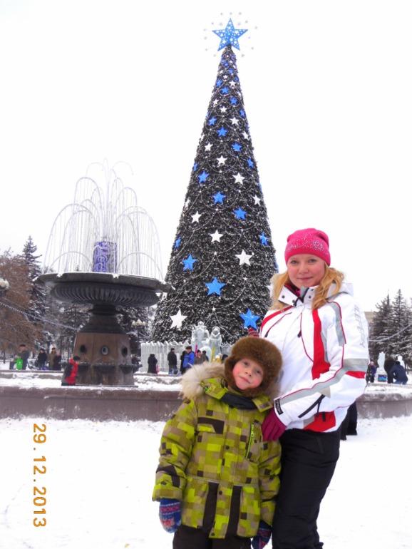 Городская ёлка, сквер им. Кирова