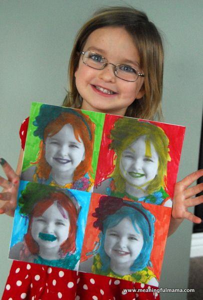 Портрет в подарок своими руками