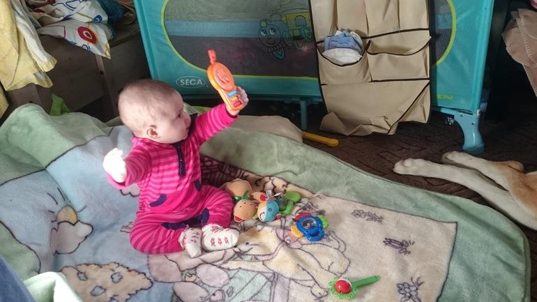 Милочка  7  месяцев