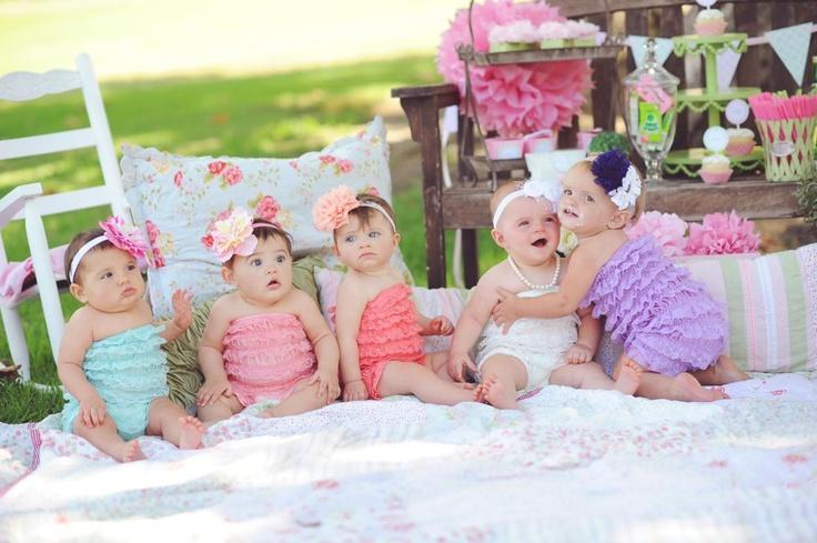 Кружевные комбезы для малышек Baby Lace Petti Rompers (США)