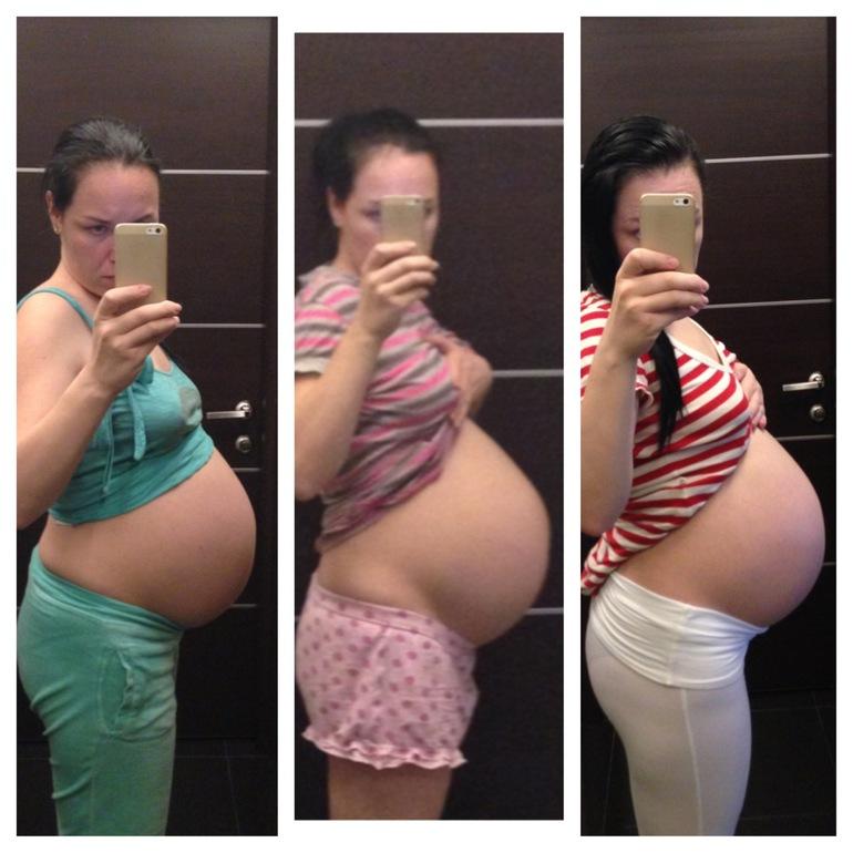 Когда и как опускается живот у беременных 1166