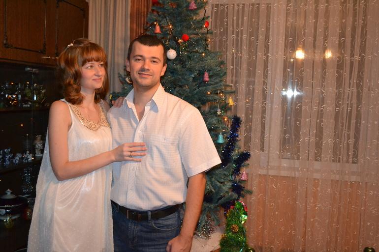 Пятнистый новый год :)