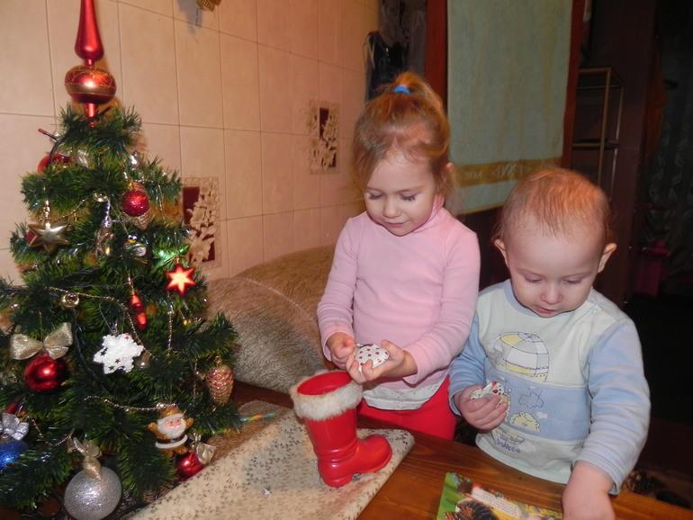 Ну вот мы и у бабушки))