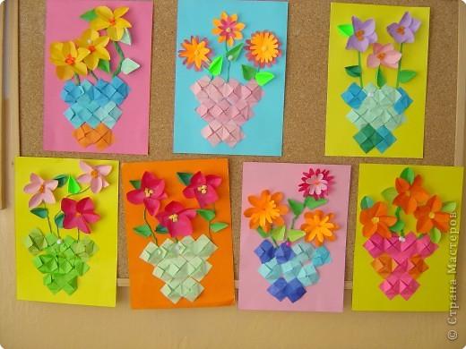 поделки из бумаги своими руками на день матери 6 класс - Самоделкины